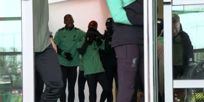 (Video) Liverpool squad wish Naby Keita a happy birthday at Melwood