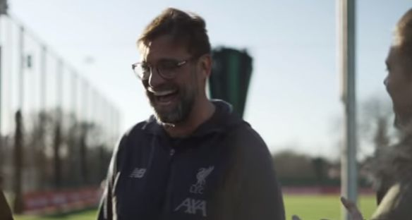 """(Video) """"I would have been a good striker"""" – Klopp says he would've """"loved"""" playing alongside Trent"""