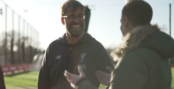 "(Video) ""From the first moment"" – Klopp compares joining LFC to meeting his wife"