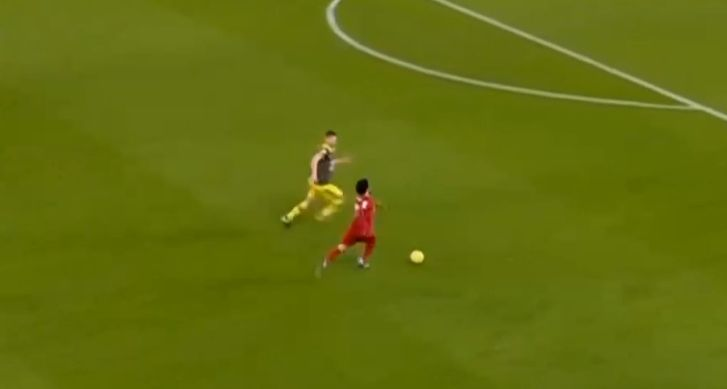 (Video) LFC fans will love Salah's best bits from Saints game; 'Egyptian King' dismantles opposition