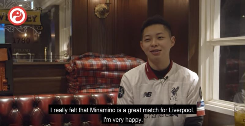 (Video) Mini-doc shows Japanese LFC fans buzzing over Minamino transfer