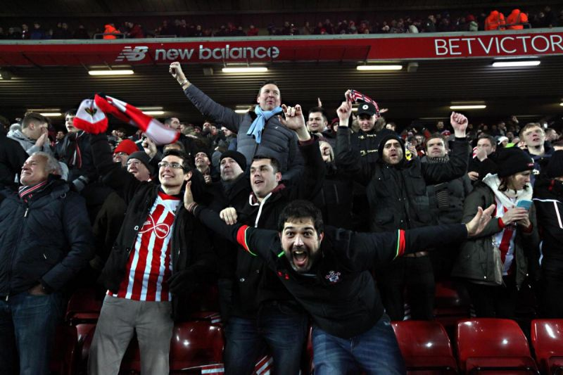 "Southampton fans belt out cheeky chant at Anfield about trophy we'll ""never"" win"