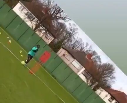 (Video) Storm Ciara isn't stopping Mane in training as his team-mates enjoy winter break