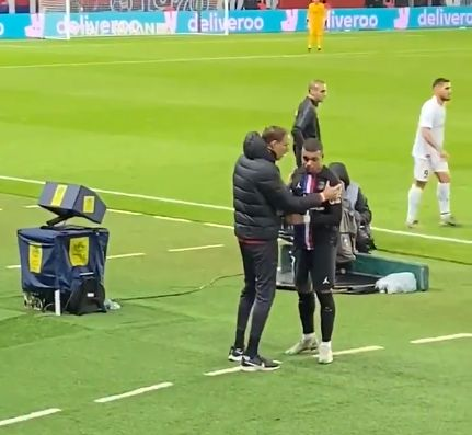 (Video) Mbappe gets Liverpool fans talking again with touchline outburst