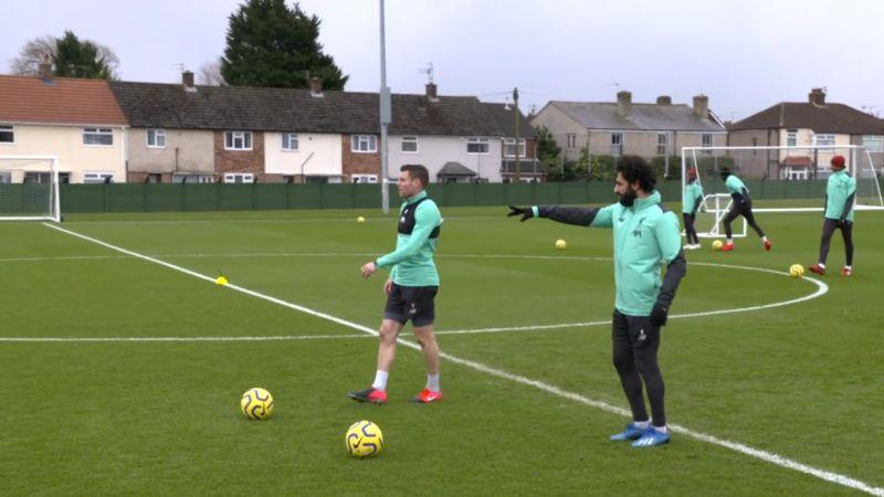 (Video) Mane & Milner all smiles as LFC star duo return to training