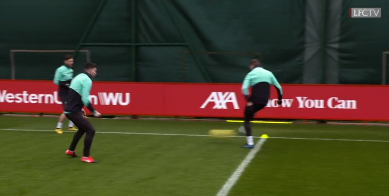 (Video) LFC run through rapid rondos in training so fast the cameraman can't keep up