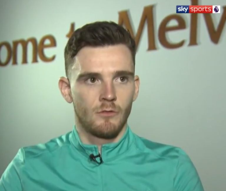 (Video) Robertson tips Henderson for Premier League Player of the Year award