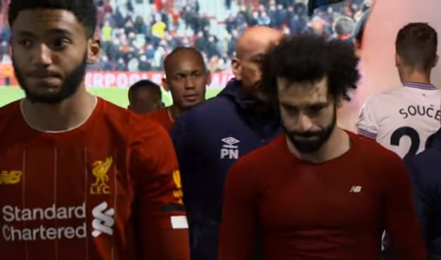 (Video) Reds looks sullen in Anfield tunnel despite comeback win v West Ham, showing how ludicrously high standards really are