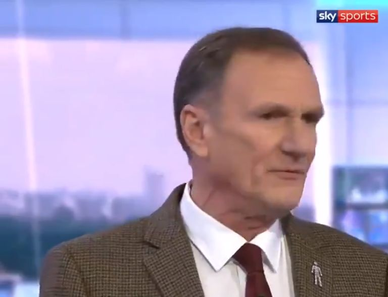 "(Video) ""Absolute rubbish"" – Phil Thompson goes off on Jeff Stelling for ""lucky Liverpool"" jibe"