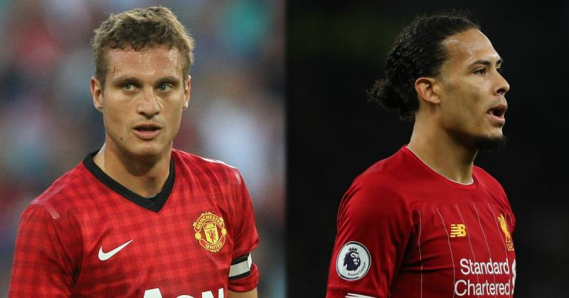 Van Dijk named superior to Vidic in 160,000 strong poll to 'settle' debate