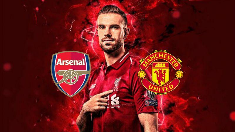 Henderson met with Man Utd & Arsenal before joining LFC, according to Damien Comolli