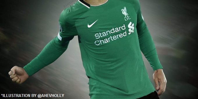 (Photos) Details of LFC's Nike kits for next season have been 'leaked' online