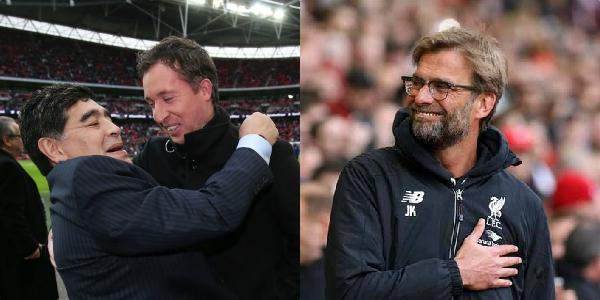 """I've made Liverpool my English team"" – Maradona absolutely loves the Reds & Jurgen Klopp"
