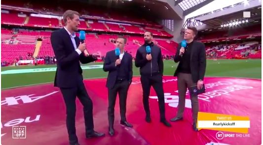 (Video) Rio Ferdinand begrudgingly accepts LFC's PL dominance is ominous