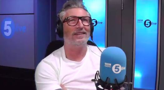 (Video) Robbie Savage disrespects Mo Salah in stupid rant, which leaves Liverpool caller literally laughing at him
