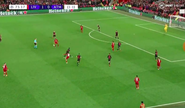 (Video) Playmaker Trent does two outside of the boot passes in quick succession to leave Anfield purring