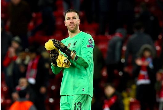 Adrian hits Twitter with slightly strange message after costing Liverpool v Atletico Madrid