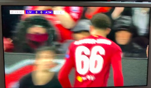 (Video) Trent rattled Felix last night and told diving Portuguese exactly what he thought of him, too