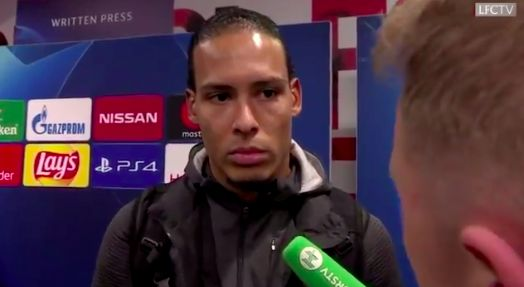 What Van Dijk actually said about Adrian, amid fake quotes circling