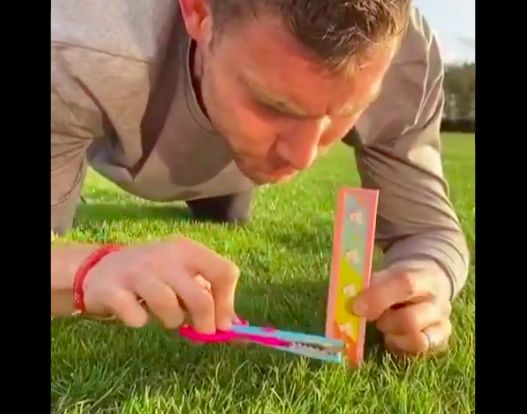 (Video) James Milner is at it again & proves he owns Twitter with latest isolation clip