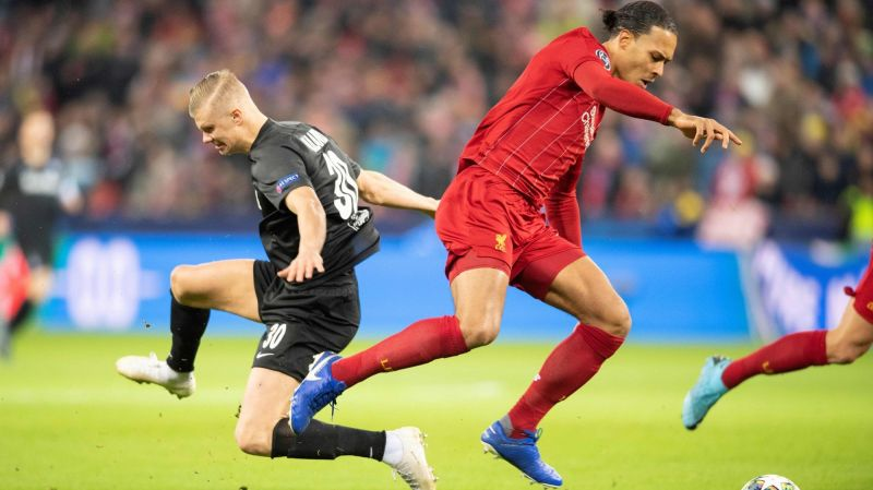 Erling Haaland says 'incredible' van Dijk is best defender in the business