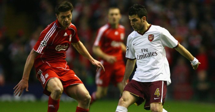 Xabi Alonso 'begged everyone' to let him sign for Arsenal from Liverpool, says Fabregas