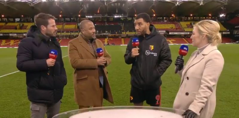 "Deeney admits targeting ""weaker of the two"" Dejan Lovren in Watford's shock win v Liverpool"