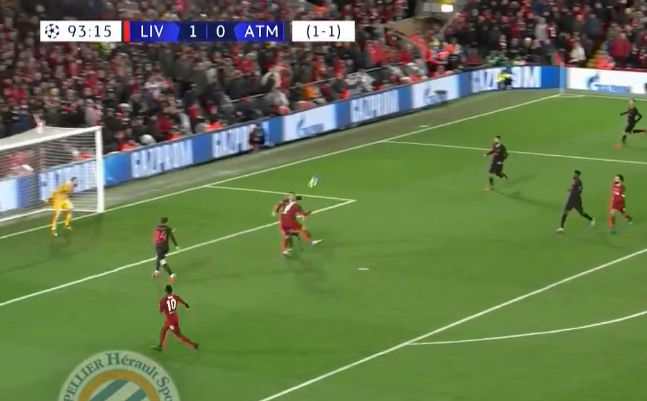 (Video) Firmino sends LFC fans bezerk by bagging first Anfield goal of the season v. Atletico