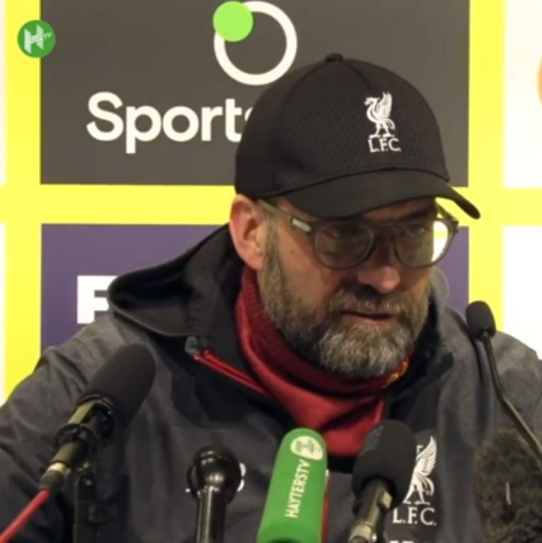 """(Video) """"Congratulations Watford – that should be the headline"""" – LFC boss Klopp gracious in defeat"""