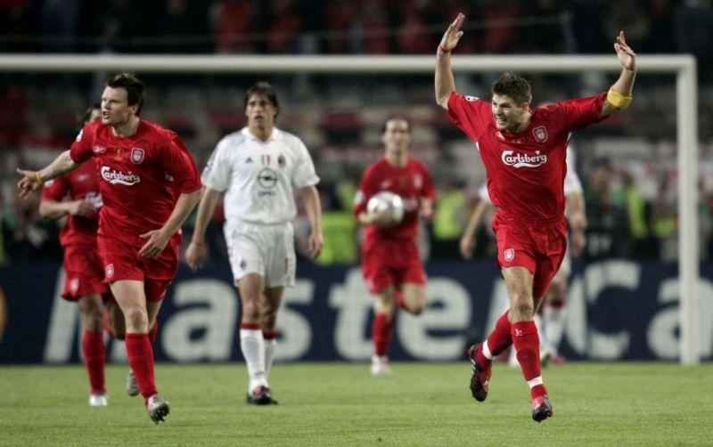 (Video) 2:15 of Steven Gerrard's Champions League winning performance v AC Milan in 2005