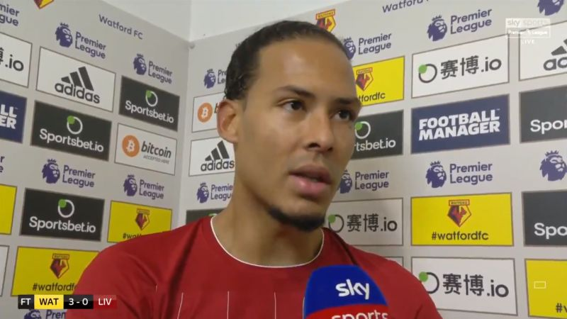 Van Dijk is like Cantona, says Manchester United legend