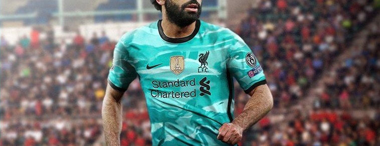 (Image) Leaked 'hyper turquoise' Nike x LFC kit looks better with Mo Salah wearing it