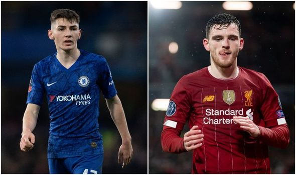Billy Gilmour reveals Andy Robertson's touch of class earlier this season
