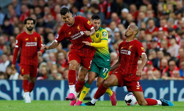 'He gave me a headache…' Norwich defender on facing maverick Firmino for the first time
