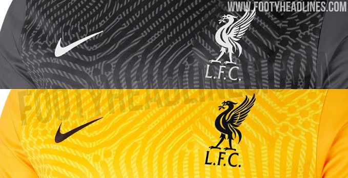 (Images) LFC's Nike 2020/21 GK kits have been leaked online
