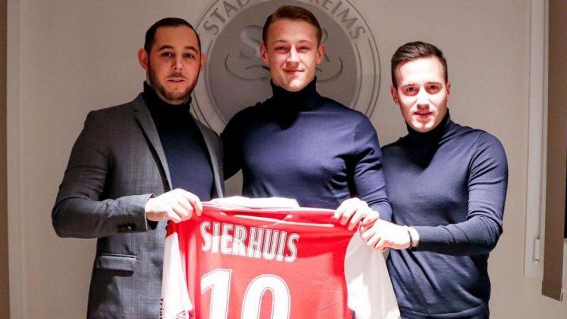 Dutch striker Kaj Sierhuis admits he's dreaming of Liverpool transfer