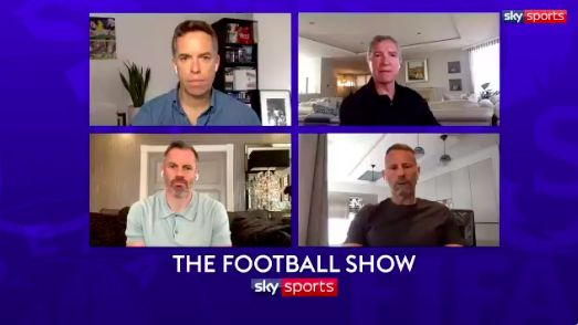 (Video) Bearded Carragher winds up Giggs on Zoom chat