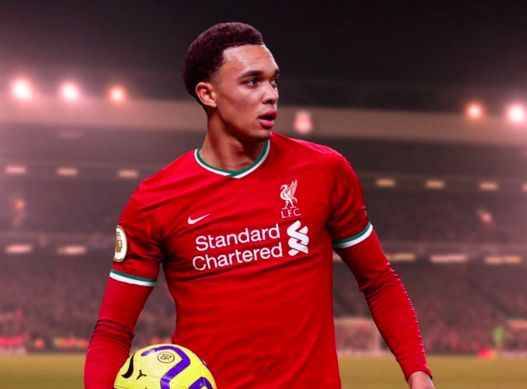(Image) Trent Alexander-Arnold in new Nike 2020/21 kit makes it look even better