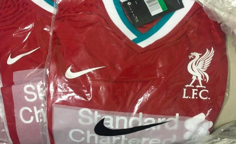 (Images) Liverpool's new kit in its Nike packaging, ready to go