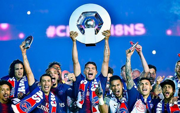 PSG named Ligue 1 champions after season cancelled – setting precedent for LFC's no.19
