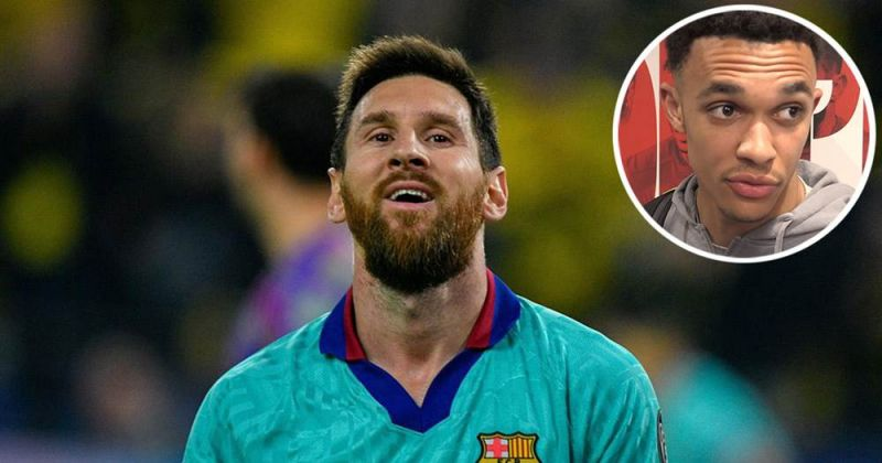 Trent 'is the future,' says Lionel Messi, in outstanding compliment
