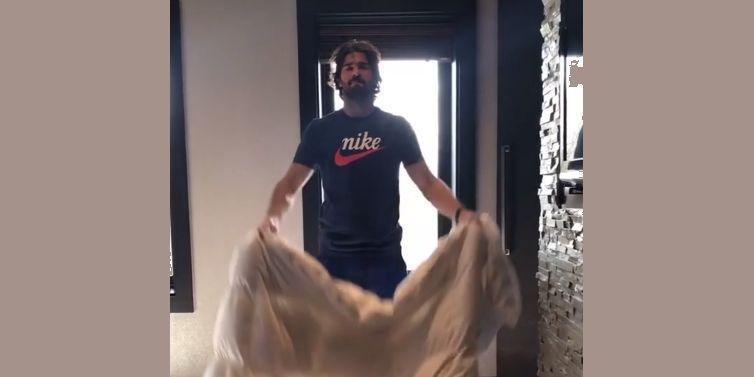 (Video) Alisson works on fun magic routine during quarantine