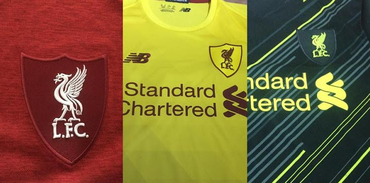 (Images) The LFC x New Balance kits for 2020/21 that won't be used