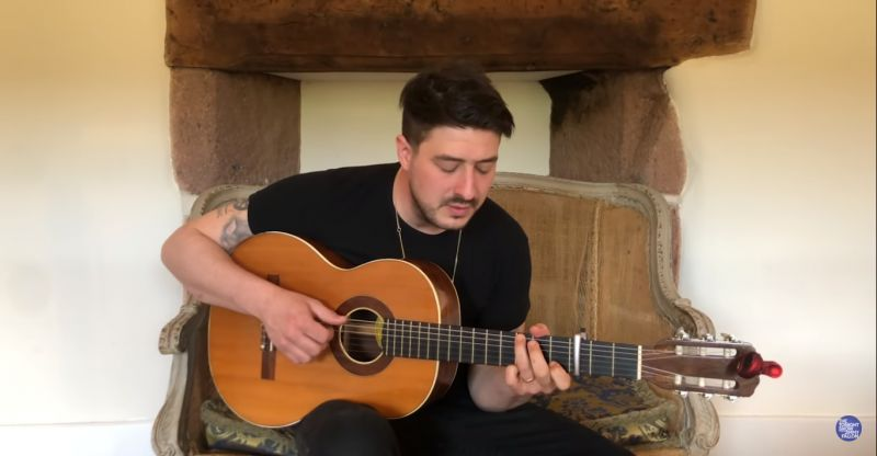 (Video) Marcus Mumford performs YNWA on The Tonight Show with Jimmy Fallon