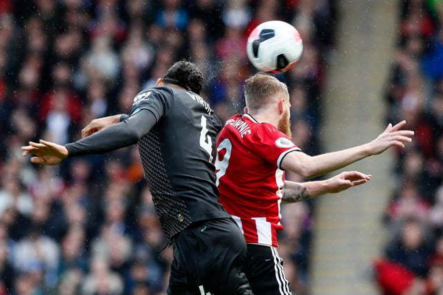 PL striker says van Dijk treated him 'like a little girl' and his old 'nudge' trick didn't work