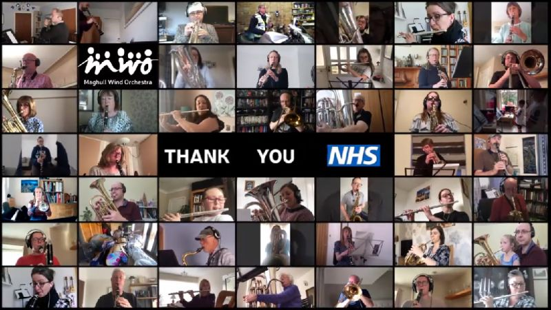 (Video) Merseyside music group record unique take on YNWA to honour the NHS