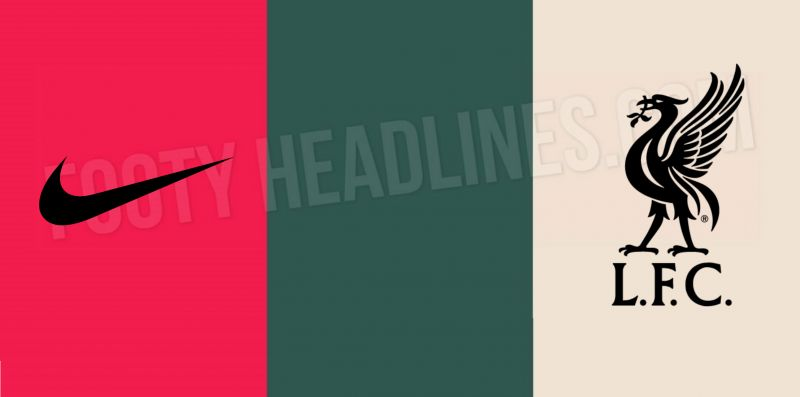 (Images) Details of Nike x LFC 20-21 training kit with beige, green & red trim leaked online