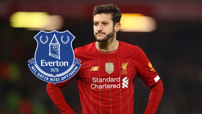 Everton named as suitors for Lallana; midfielder to leave LFC on a free transfer