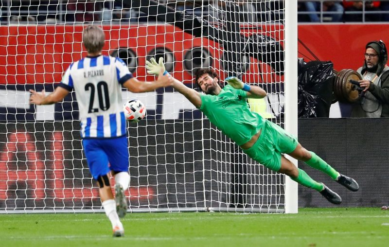 Alisson described as an 'animal' and 'a beast' by Club World Cup opponent