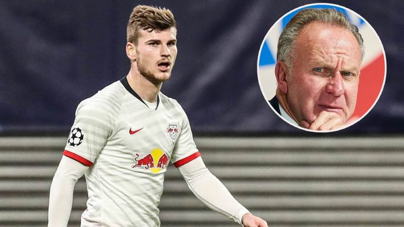 Bayern slam Timo Werner for his conduct regarding Liverpool transfer